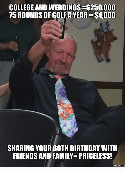 60th birthday meme