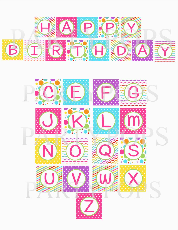 post happy birthday letters printable 88438