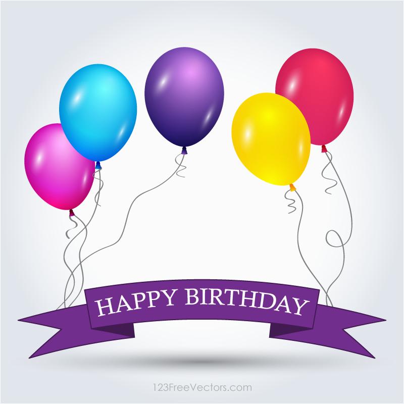 Happy Birthday Banner Vector Free Download Happy Birthday Banner Template Free Download Free Vector
