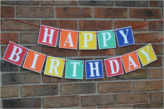 birthday banner happy birthday happy