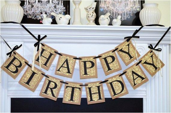 happy birthday banner birthday party