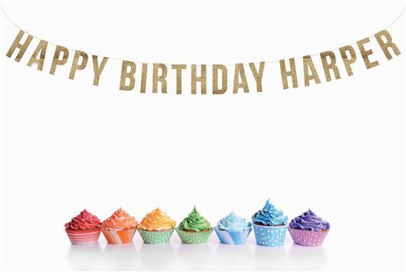 custom happy birthday banner birthdays