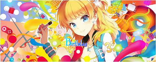 anime girl happy birthday 344538738