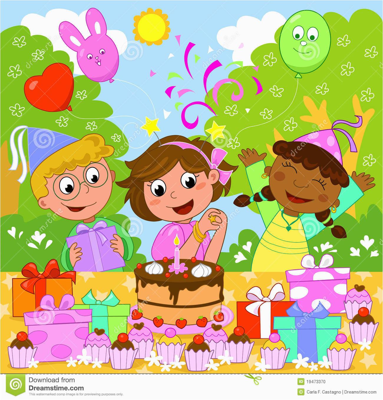 stock photo happy birthday girl image19473370