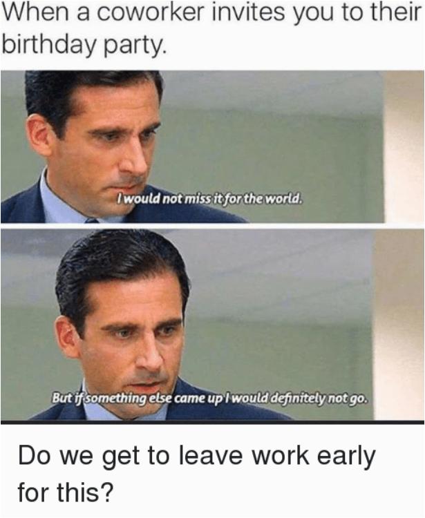 45 hilarious coworker birthday meme