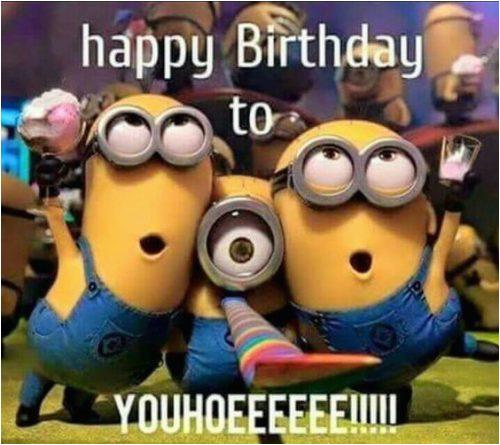 25 funny minions happy birthday quotes