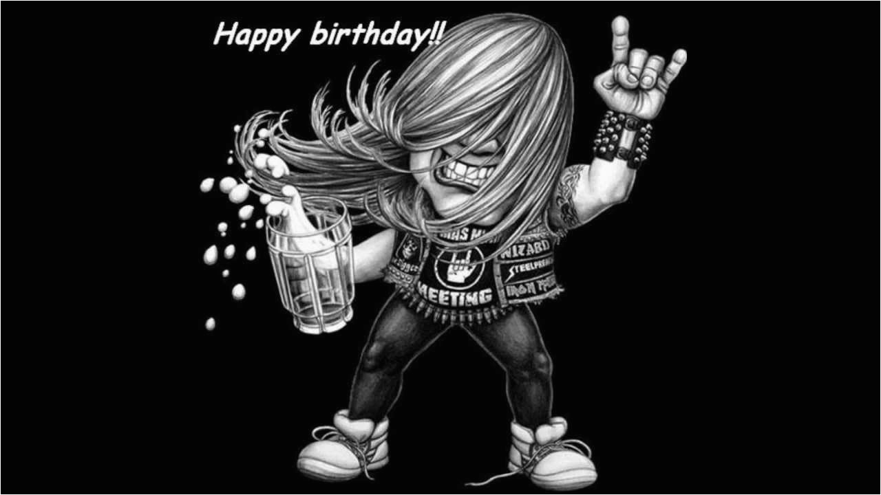 Heavy Metal Birthday Memes Quot Happy Birthday Quot Metal Version Youtube