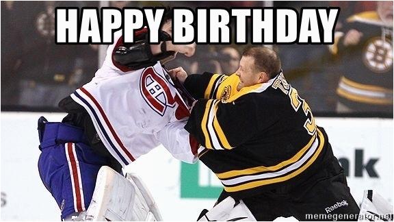 hockey goalie happy birthday