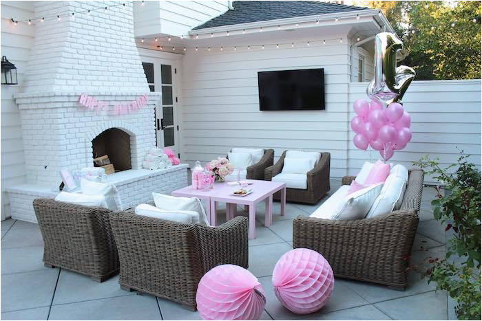 pretty in pink 14th birthday party