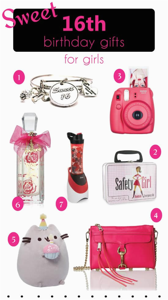 best 16th birthday gift ideas for girls
