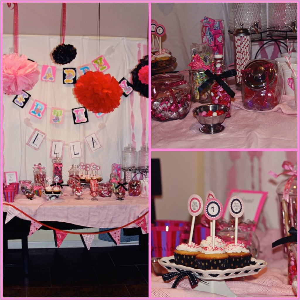 sweet seven year old birthday party