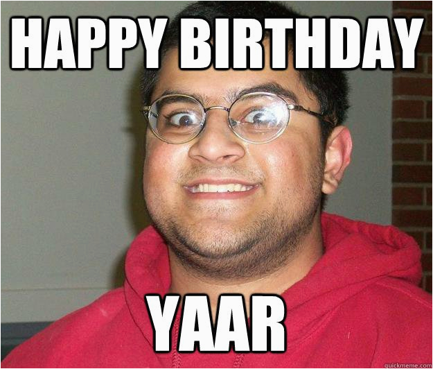 indian birthday memes