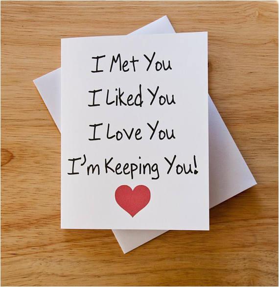 i love you card boyfriend gift card for