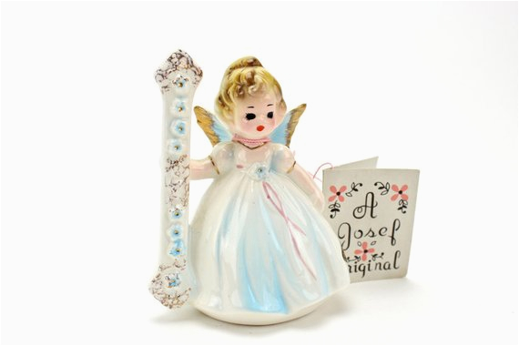 vintage josef birthday girl angel