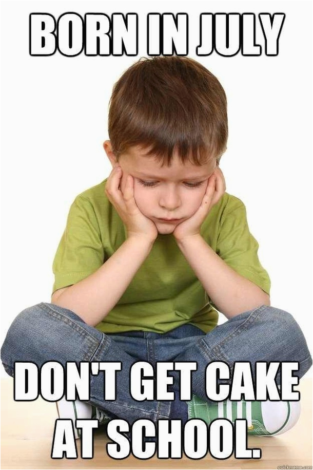 today is my birthday growing up this was always the worst