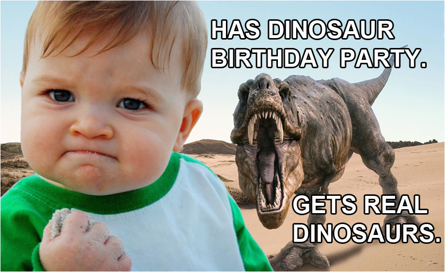 Kids Happy Birthday Memes Four Ways to Give Your Kid A Great Birthday at Hmns