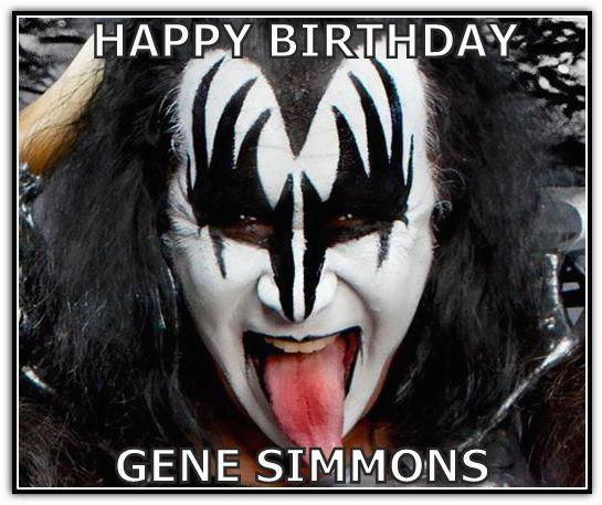 happy birthday gene simmons