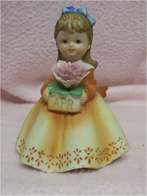 lefton april birthday girl figurine
