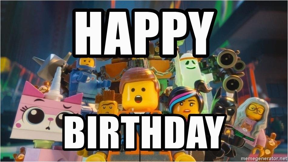lego movie happy birthday