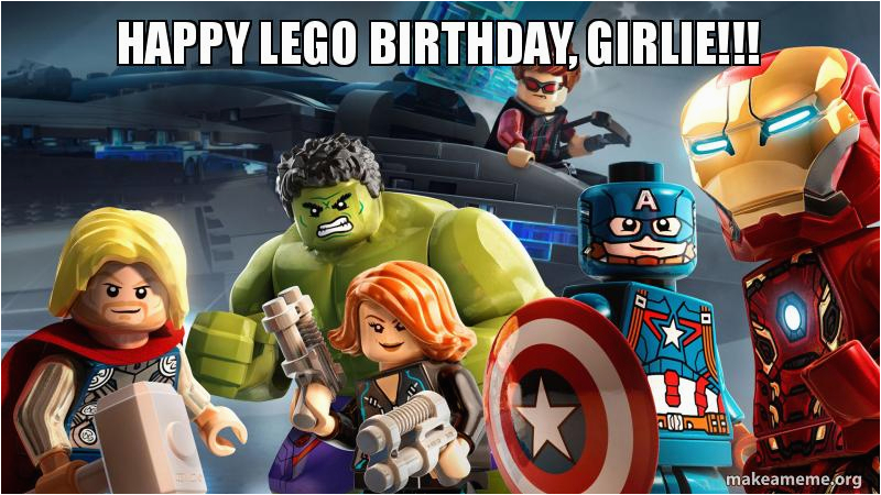 happy lego birthday