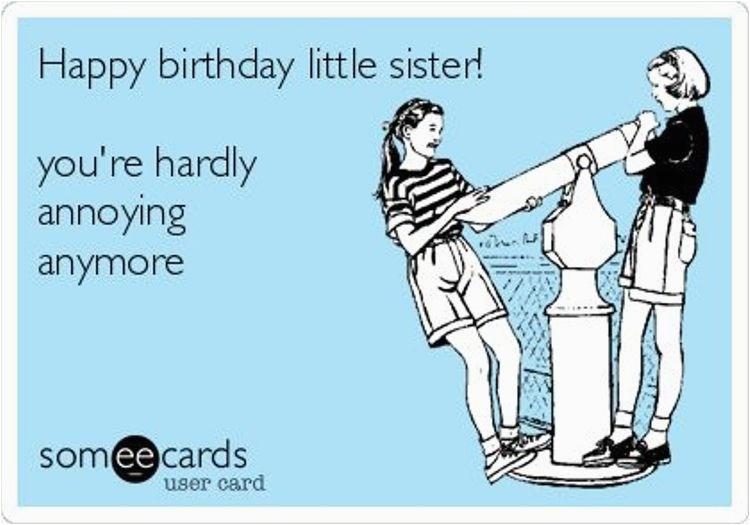 19 sis birthday meme