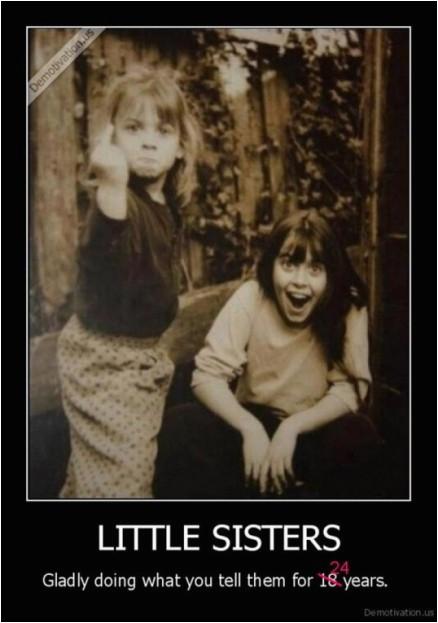 Little Sister Birthday Meme Little Sisters