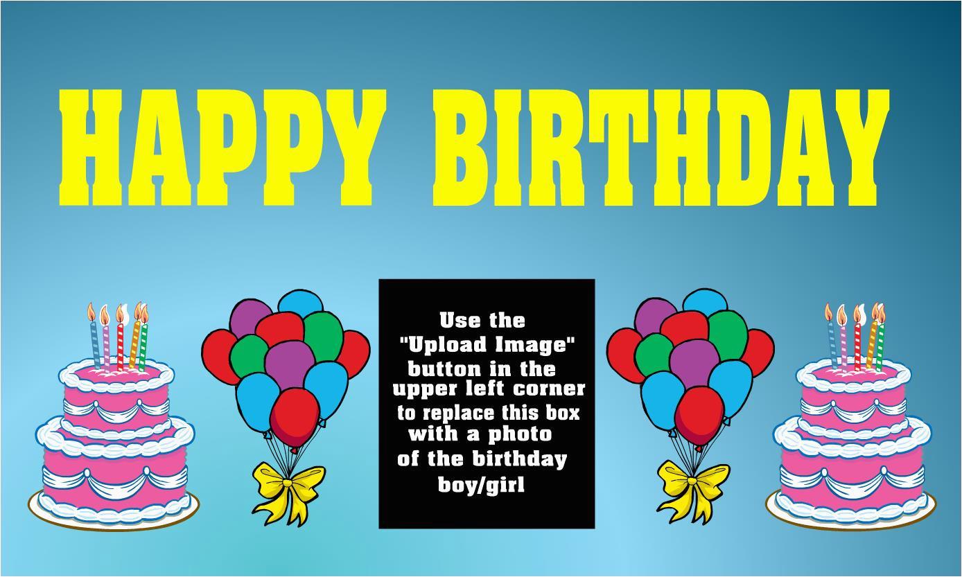 make happy birthday banner online free