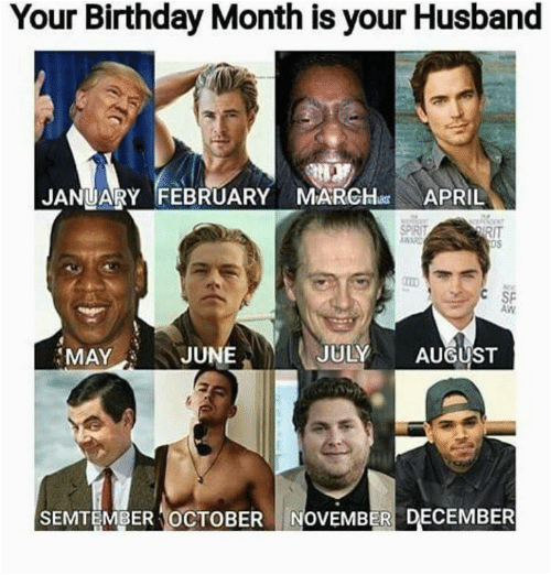 birthday month