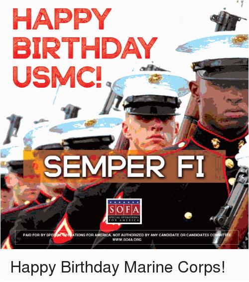 happy birthday marine s new