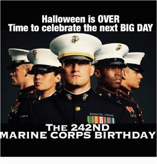 marine corps birthday s new