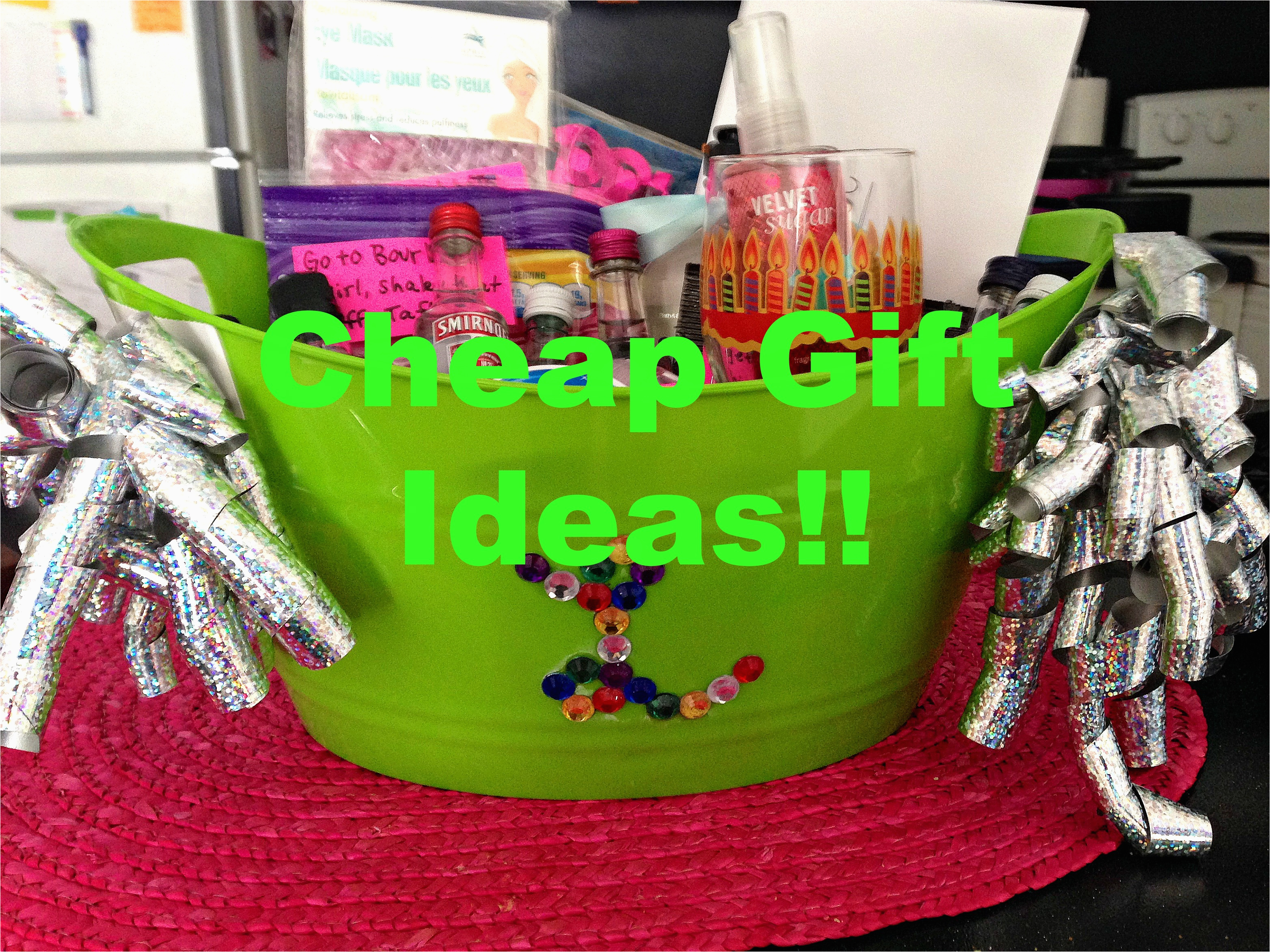 how to makebuy cheap but memorable birthday gifts