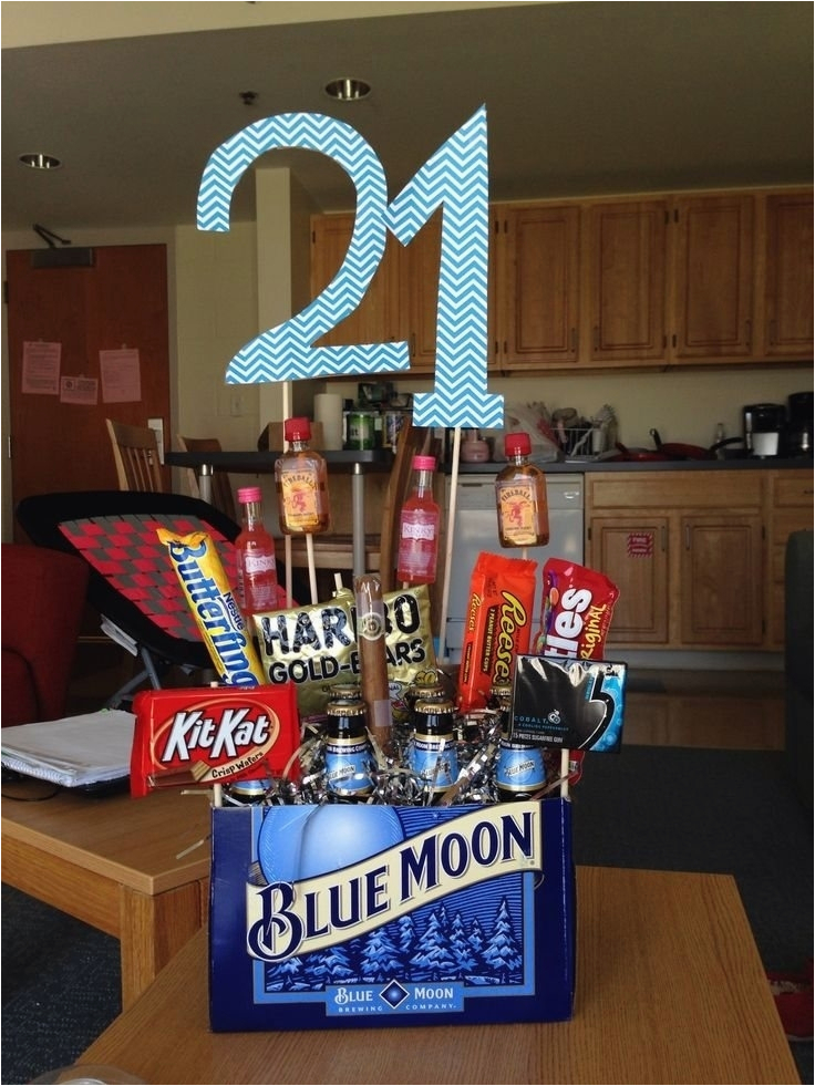 memorable 21st birthday gifts for him