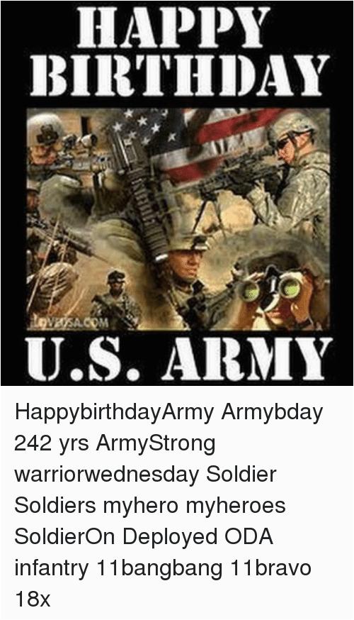 happy birthday u s army happybirthdayarmy armybday 242 yrs armystrong warriorwednesday 15577196