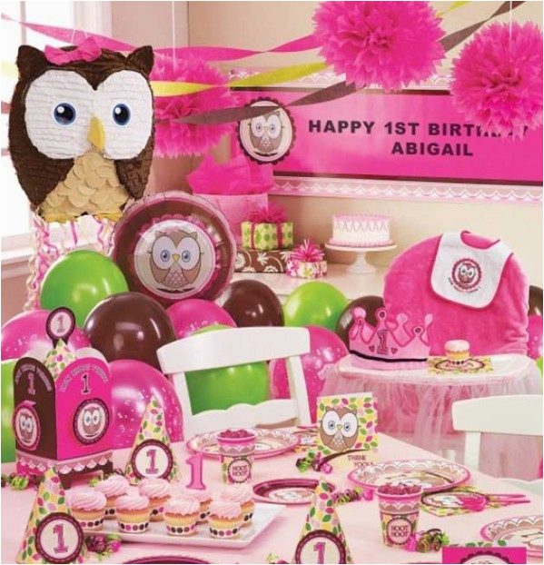 first birthday party themes for girls
