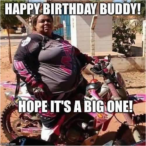 15 best happy birthday motorcycle meme