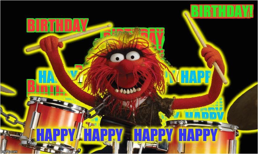 Muppets Happy Birthday Meme Animal Happy Birthday Meme Imgflip