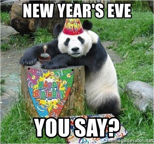 happy birthday panda new years eve you say