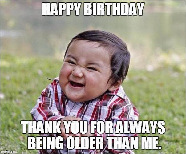 funny birthday meme wishes