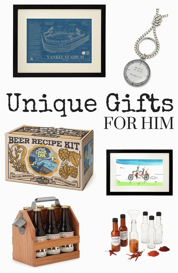 Original Birthday Gifts for Him Unique Gifts for Him Typically Simple