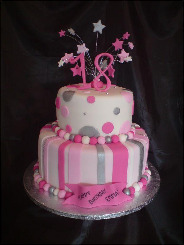 Party Ideas for 18th Birthday Girl 18th Birthday Cake Ideas for A Girl Happy Birthday