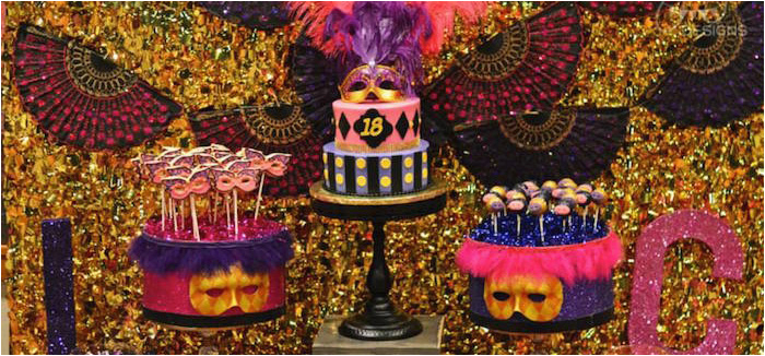 masquerade 18th birthday party