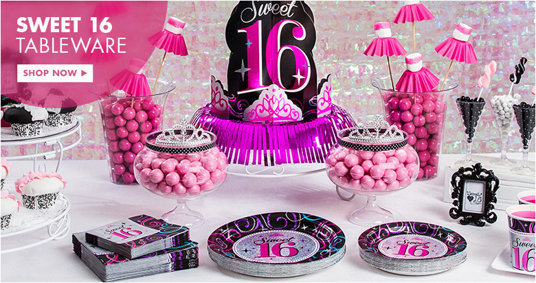 girls birthday sweet 16