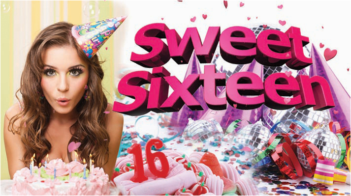 sweet sixteen birthday party ideas
