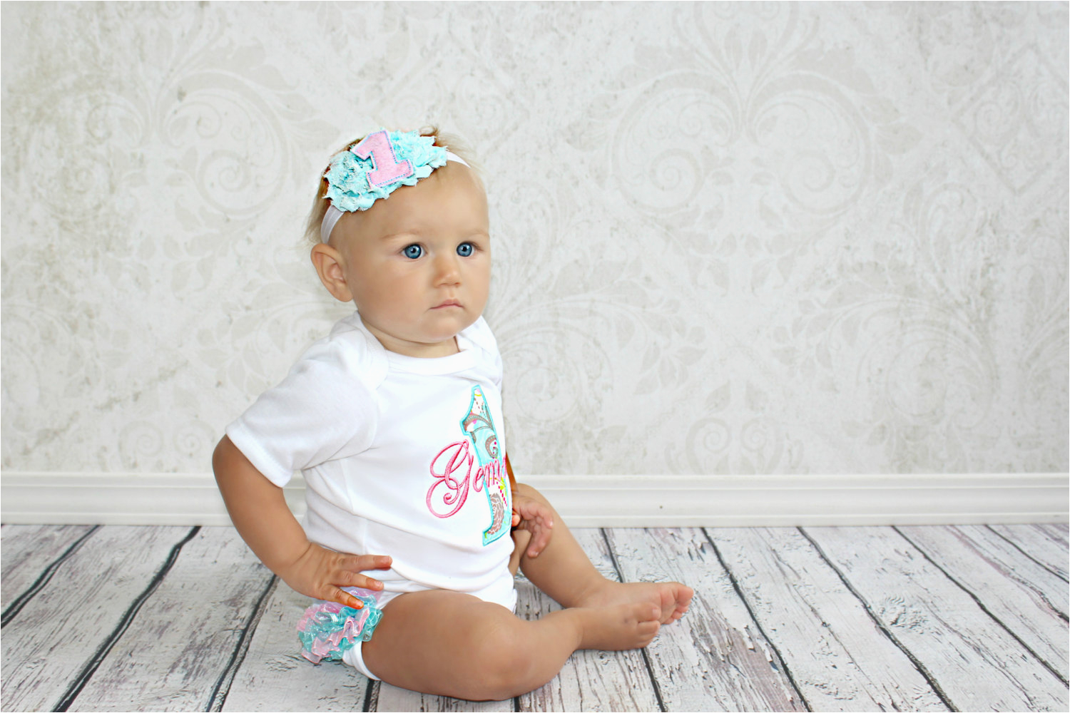 first birthday outfit girl personalized