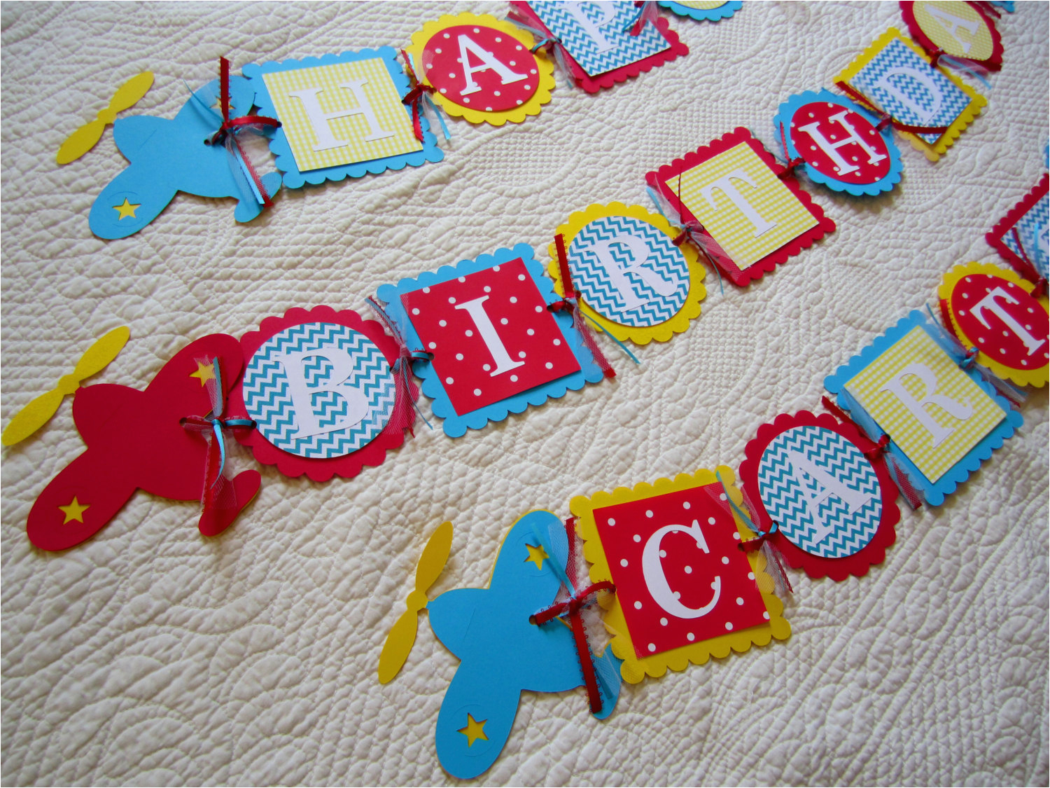 personalized happy birthday name banner