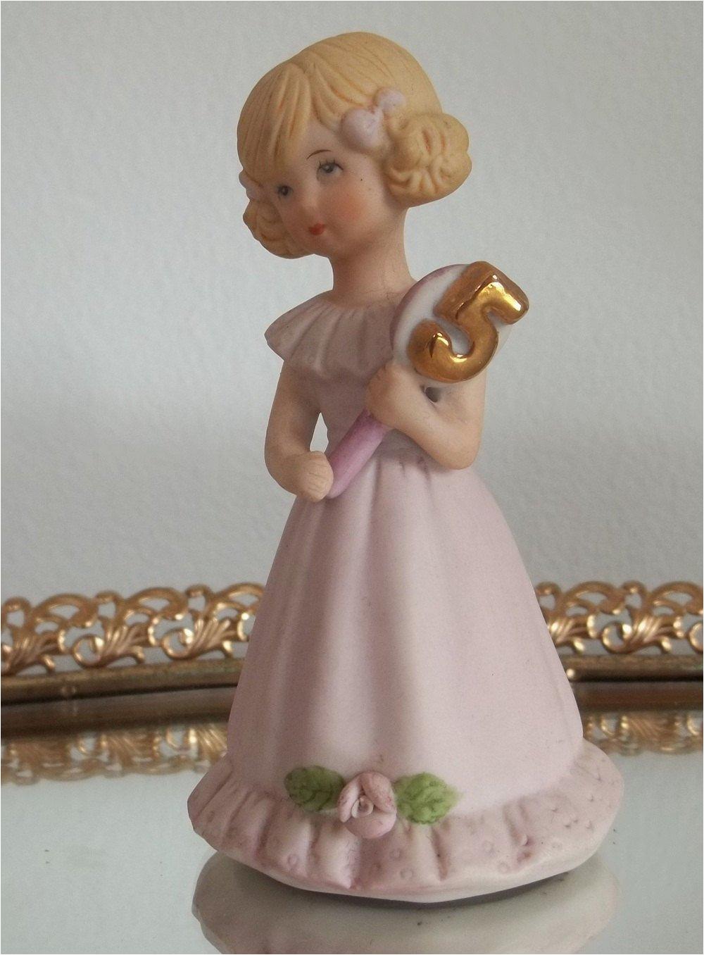 growing up birthday girl porcelain