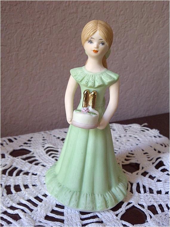 enesco birthday girl age 11 porcelain