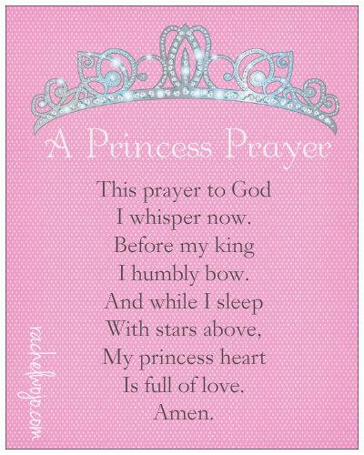 princess prayer