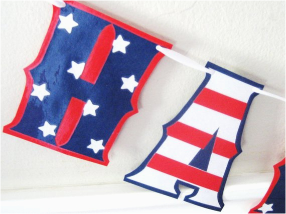 happy birthday america independence day banner