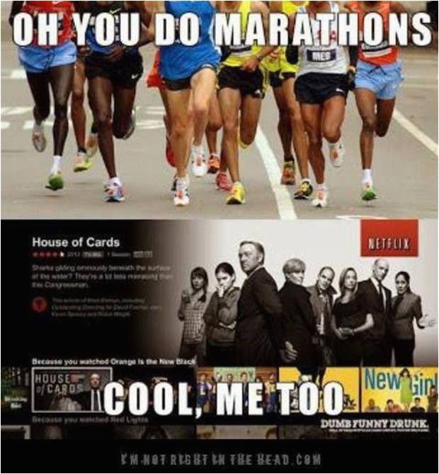 marathon humor
